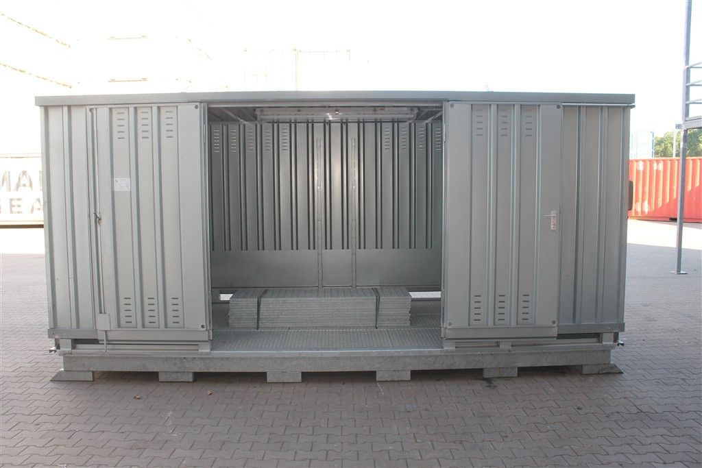 Gebrauchte Lagercontainer & sonstige Container - Eurotrans GmbH