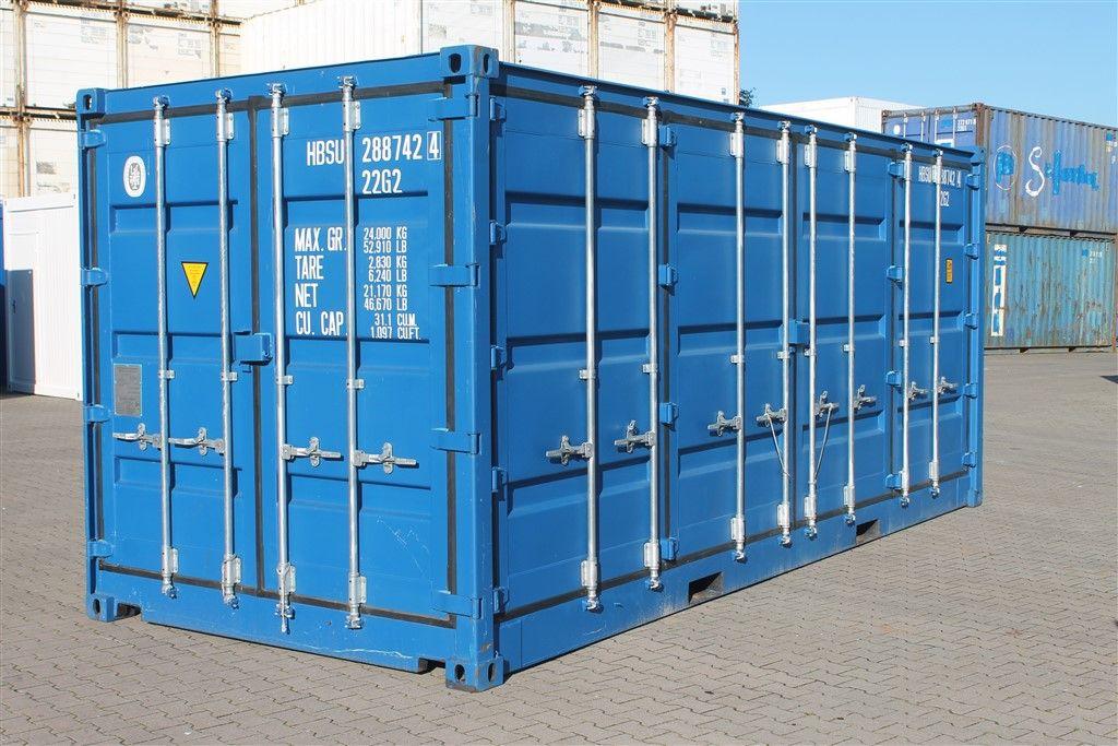Neue und gebrauchte Lagercontainer, Isoliercontainer und ...